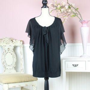 French Laundry Ruffle Shirt Size 22/24